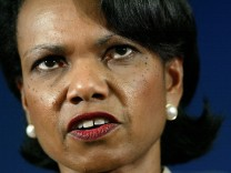 Condoleeza Rice Addresses Peace Group About The War On Terror