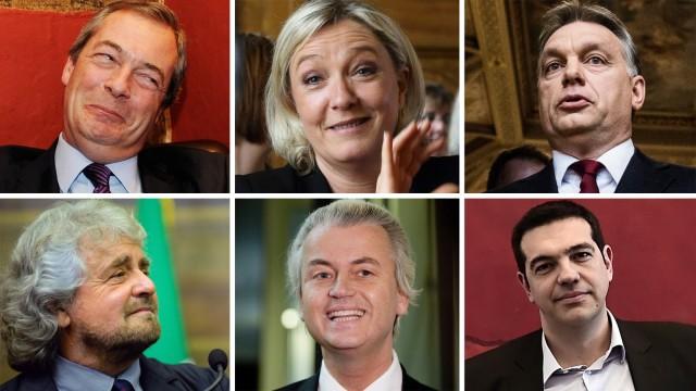 Europawahl Populismus in Europa