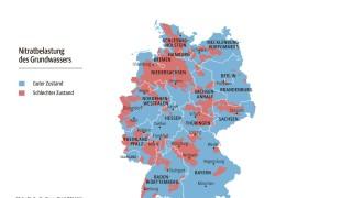 trinkwasserqualität deutschland karte Belastetes Trinkwasser in Deutschland   Es stinkt zum Himmel  trinkwasserqualität deutschland karte