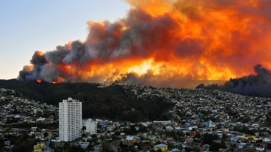 Naturkatastrophe Naturkatastrophe in Chile