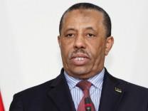 Hat Angst um die Sicherheit seiner Familie: Abdullah al-Thinni Libyen Premier