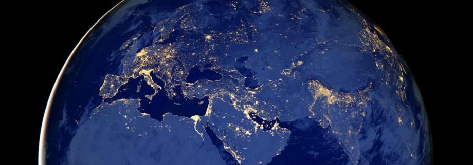 Die Welt bei Nacht