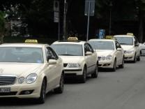 Sprachführer für Taxifahrer