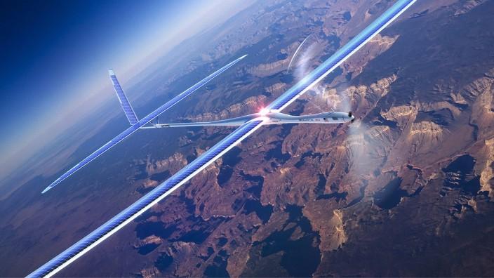 Titan Aerospace Drohnen Google