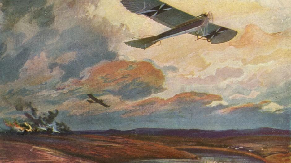 Erster Weltkrieg: Seltene Fotos vom Luftkrieg