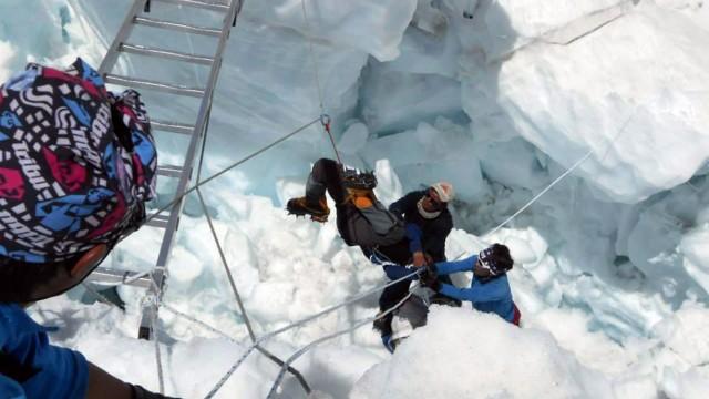 Mount Everest Lawinenunglück am Mount Everest