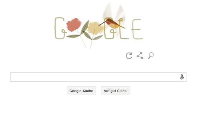 Google Doodle Zimtkolibri