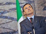 Italiens Außenminister Franco Frattini; AFP