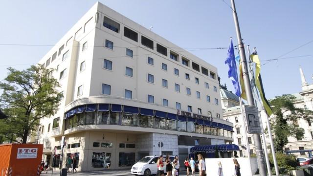 Hotel Königshof in München, 2012