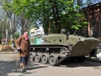 Slawjansk in der Ost-Ukraine