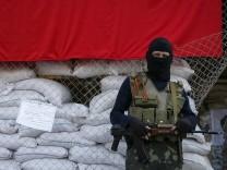 Prorussischer Seperatist im Osten der Ukraine