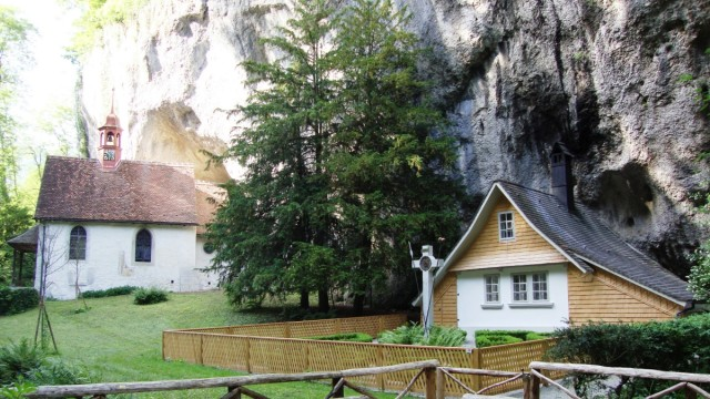 Klause mit Martinskapelle, Solothurn, Verenaschlucht