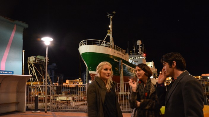 Am Hafen in Reykjavík