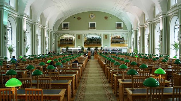 Nationalbibliothek in St. Petersburg