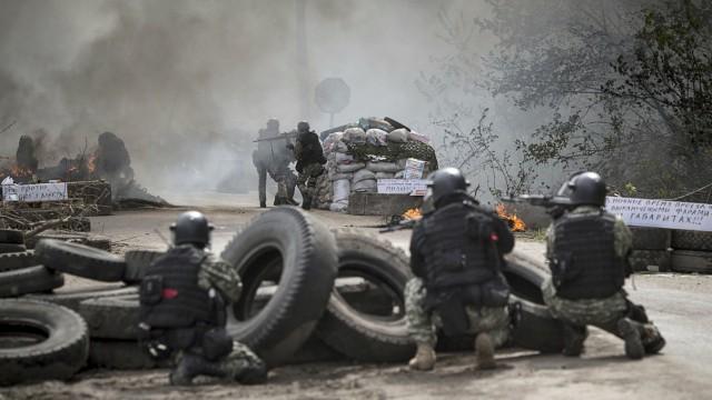 Weiter blutige Gewalt in der Ostukraine
