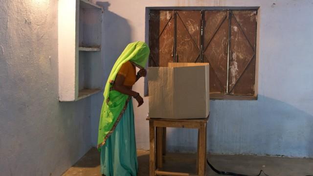 Wahl in Indien Parlamentswahl in Indien
