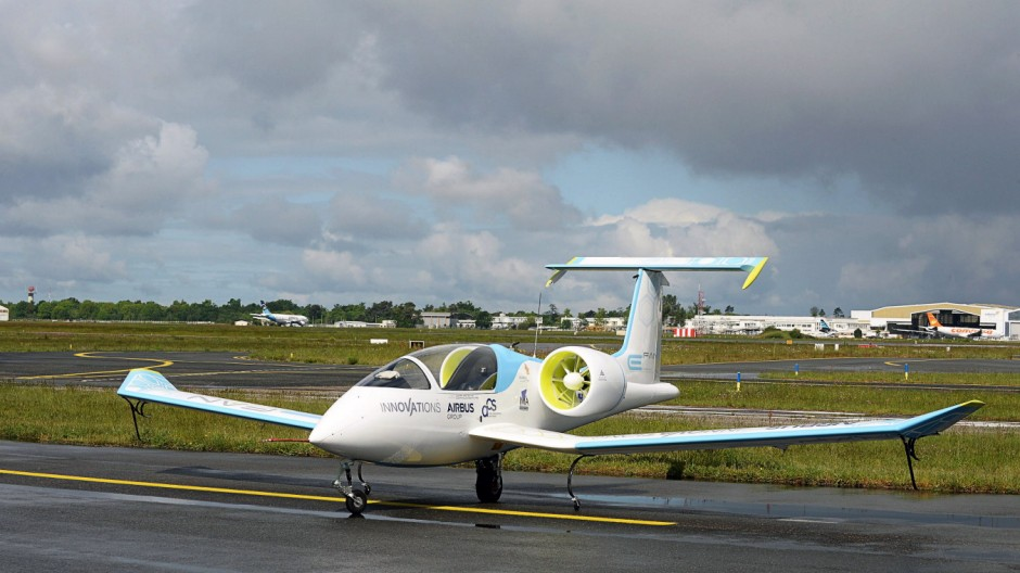 The electric aircraft of Airbus Group