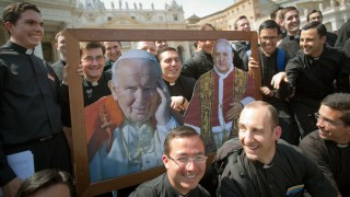 Vatikan, Papst, Heiligsprechung