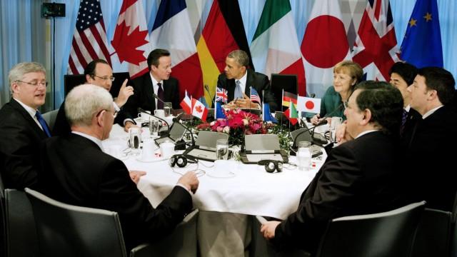 G7-Treffen in Den Haag