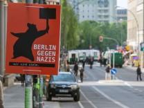 Proteste zu NPD-Demo