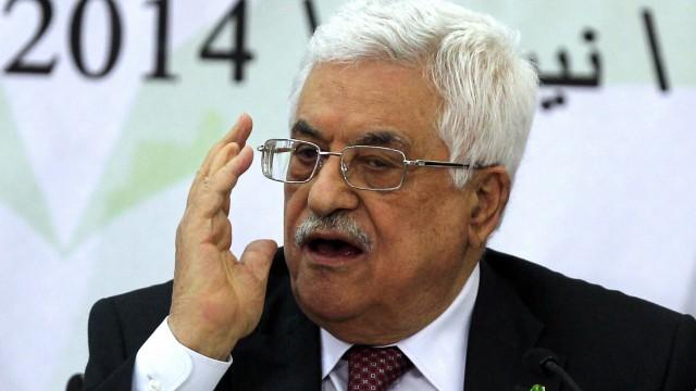 Mahmud Abbas Palästinenser-Präsident
