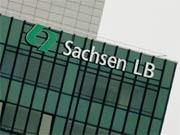 Ehemaliger SachsenLB-Hauptsitz in Leipzig, ddp