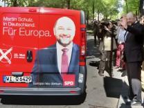 Spitzenkandidat der SPD Martin Schulz startet Wahlkampftour