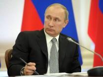 US Putin Sanktionen Ukraine