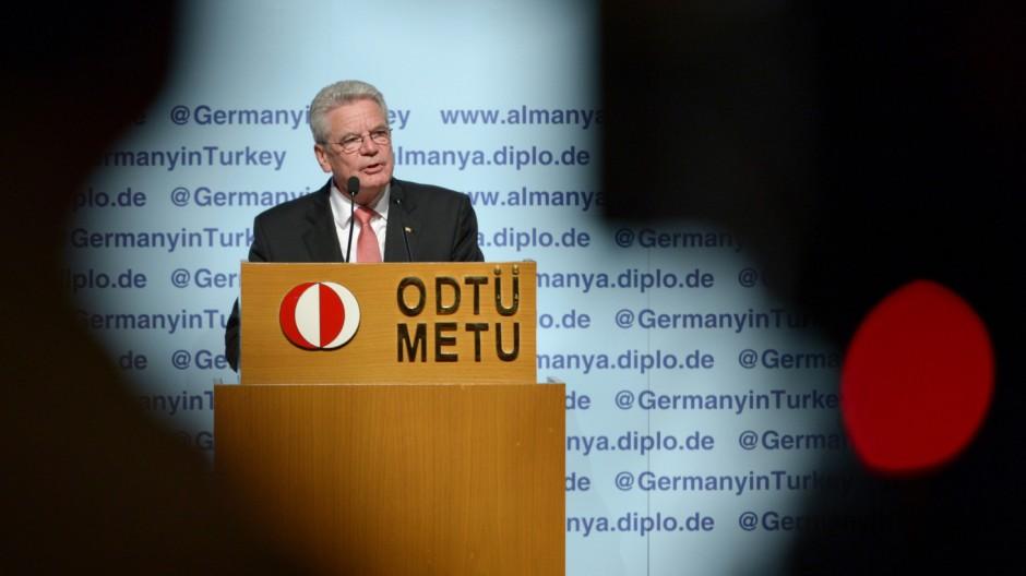Gauck besucht die Türkei