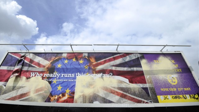 UKIP poster in south London