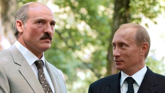 Treffen Putin - Lukaschenko