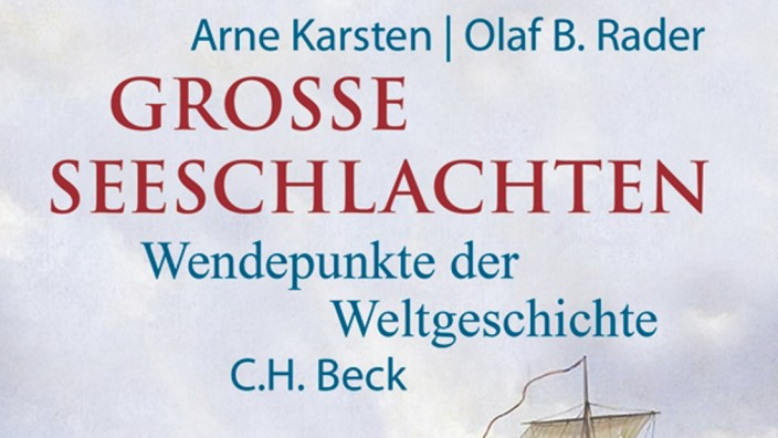 Cover 'Große Seeschlachten'