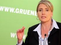 Pressekonferenz der Grünen nach gemeinsamer Sitzung