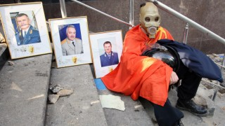 Crisis in Ukraine, Donetsk May Day rally