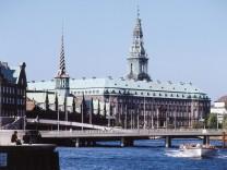Christiansborg Kopenhagen Dänemark