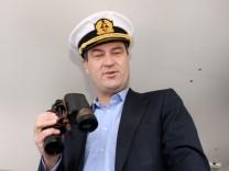 Markus Söder eröffnet Schifffahrtssaison