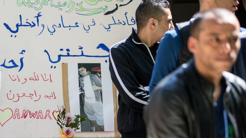 Gedenken an erstochenen Flüchtling