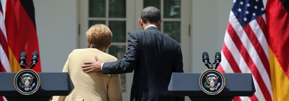 Treffen Merkel und Obama