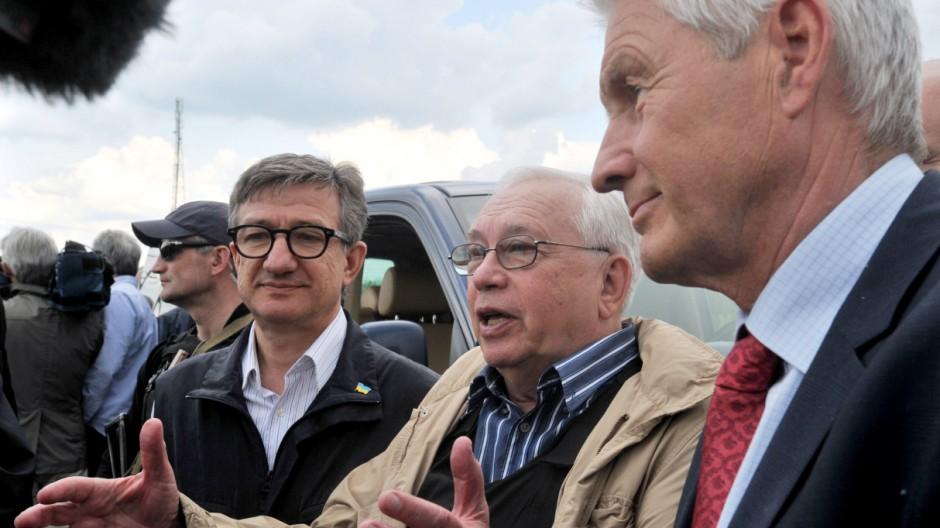Ukraine im Umbruch OSZE-Militärbeobachter in der Ukraine