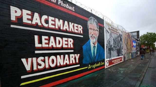Arrest of Gerry Adams