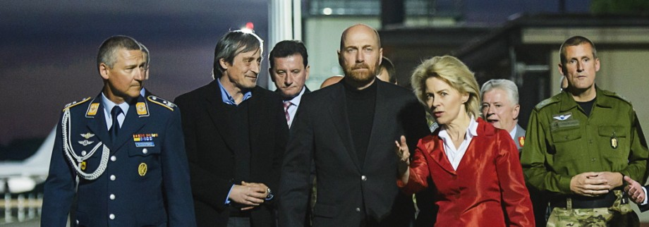 Freed OSCE Hostages Arrive In Berlin