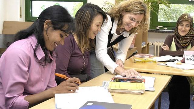 Deutsch für Ausländer in der Kirchenschule
