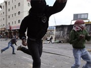 Straßenschlacht, Jerusalem, Reuters