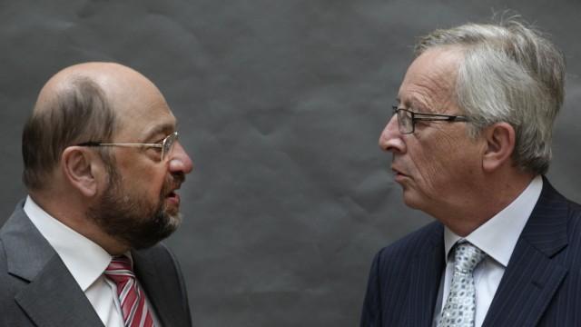 Martin Schulz und Jean-Claude Juncker