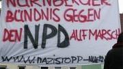 Proteste gegen NPD-Aufmarsch; ddp