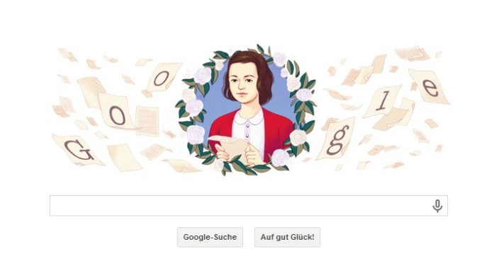 Sophie Scholl Google Doodle