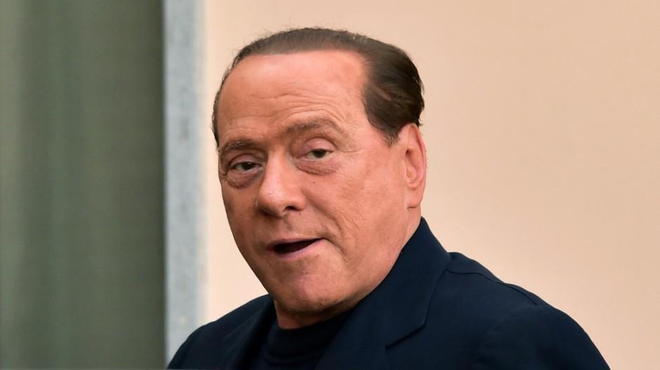 Silvio Berlusconi Italienischer Ex-Regierungschef Berlusconi