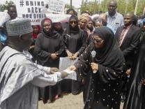 Abducted girls protest in Yola