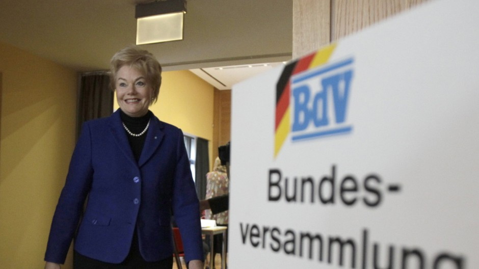 BdV President Steinbach attends general meeting in Berlin