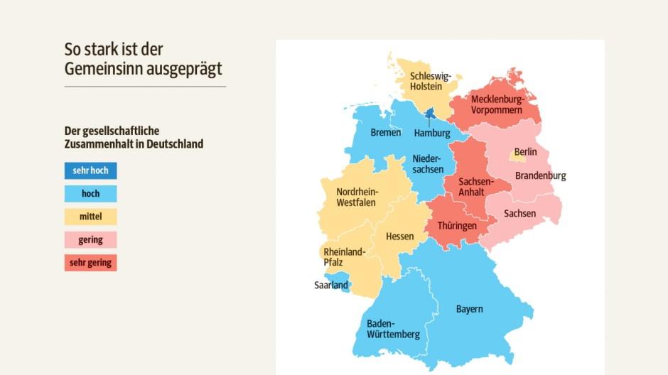 Bertelsmann Stiftung Studie zu gesellschaftlichem Zusammenhalt